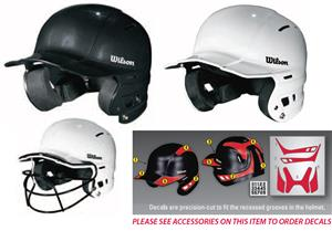 Wilson NOCSAE The One Baseball Batting Helmets