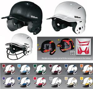 Wilson The One Baseball Helmet Decals