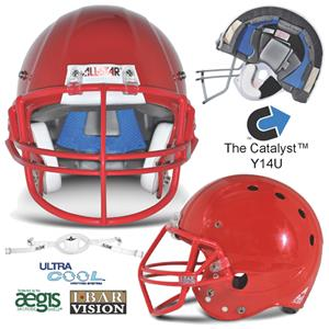 All-Star Catalyst NOP Youth Football Helmets