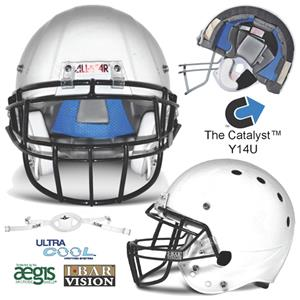 All-Star Catalyst TriBar Youth Football Helmets