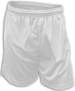 Dubes Milan Mesh White Soccer Shorts-Closeout