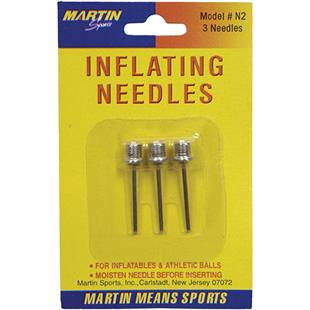 Martin Blister Card of 3 Inflating Needles