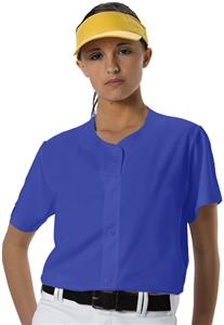 Alleson PROFJW Women's Faux Front Softball Jerseys