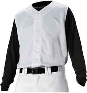 Alleson PROFV Adult Faux Front Baseball Vests CO