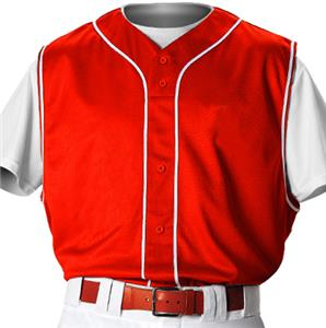 Alleson PROFVBY Youth Baseball Vest w/Braid