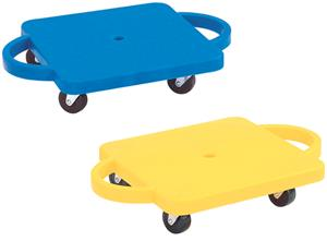 """Martin Sports Plastic 12""""x12"""" Scooter with Handles"""