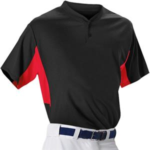 Alleson 506HC Adult Two Button Baseball Jerseys