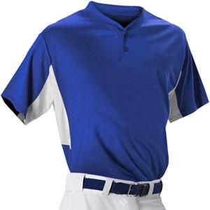 Alleson 506HCY Youth Two Button Baseball Jerseys