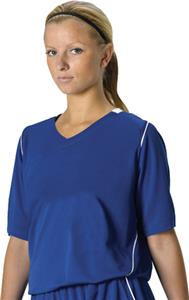 Alleson 557JW Women&#39;s Mock Mesh Softball Jerseys