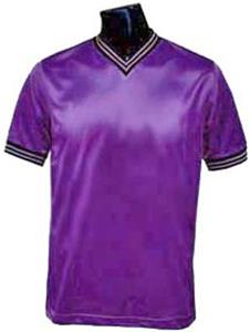 Pre-Numbered PURPLE Soccer Jerseys W/BLACK #s