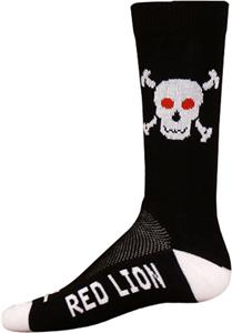 Red Lion Bones Crew Socks