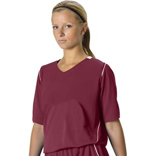 Alleson Girl's Mock Mesh Softball Jerseys CO