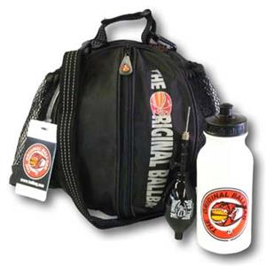 Original Basketball Ballbag, Pump & Water bottle