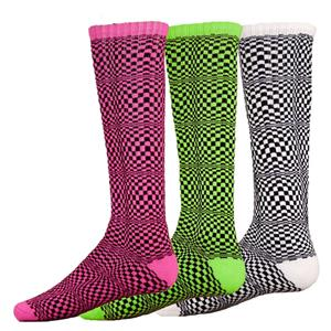 Red Lion Optical Illusion Athletic Socks