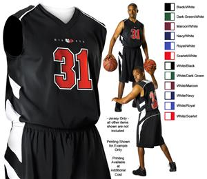 Alleson 539J Adult Basketball Jerseys