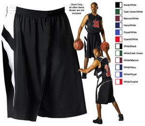 Alleson 539P Adult Varsity Basketball Shorts C/O