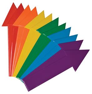 Champion Sports Non-Skid Vinyl Arrows Set of 12
