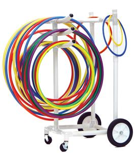 Champion Heavy Duty Plastic Hoop Storage Cart
