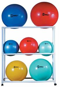 Champion Sports Exercise Ball Storage Cart