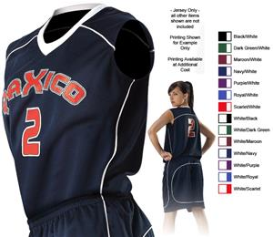 Alleson 548W Women's Basketball Jerseys C/O
