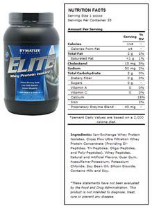 Dymatize Nutrition Elite Whey Protein 2.05 lbs