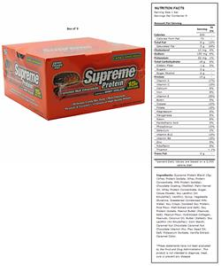 Supreme Protein Caramel Nut Chocolate Protein Bars
