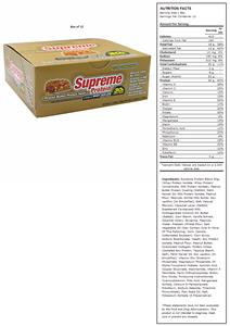 Supreme Protein Peanut Butter Pretzel Protein Bars