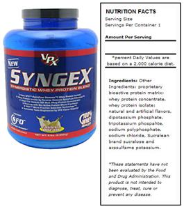 VPX Syngex Vanilla Protein