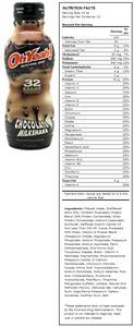 ISS Oh Yeah! Chocolate Milkshake Protein Shakes