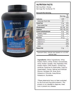 Elite Gourmet Whey &amp; Casein Blend