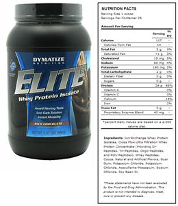 DYMATIZE Elite Rich Chocolate Whey Protein - 2 lbs