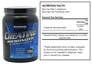 Dymatize Nutrition Micronized Creatine - 1000gm