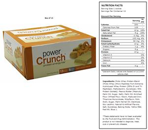 BNRG Power Crunch Peanut Butter Creme Protein Bars