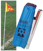 Portable Folding Soccer Flag System (set of 4)