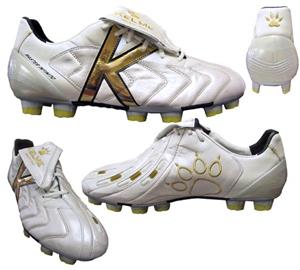KELME MASTER INFINITO CLEAT PEARLIZED WHITE/GOLD