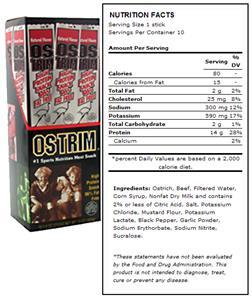 Ostrim Beef & Ostrich Snack