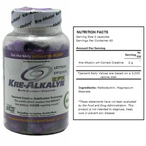 EFX Kre-Alkalyn Creatine Bodybuilding Supplement