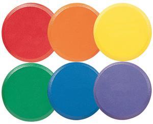 Champion Sports Rhino Skin Foam Disc Set 6 Colors