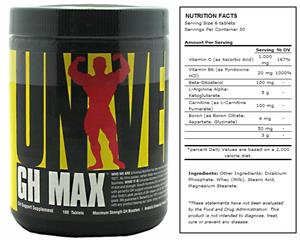 Universal Nutrition GH Max Dietary Supplement