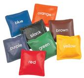 "Champion Sports 5"" Colored Bean Bag Set"