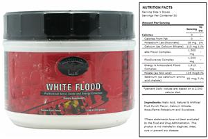 White Flood Fruit Punch Pre-Workout Supplement