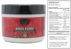 White Flood Lemonade Pre-Workout Supplement