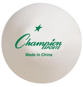 Champion Top Grade Inst. Table Tennis Balls Balls