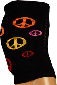 Red Lion Peace Sign Knee Pad Covers