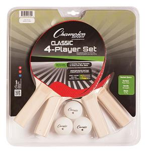 Champion 4 Player Table Tennis Ping Pong Set