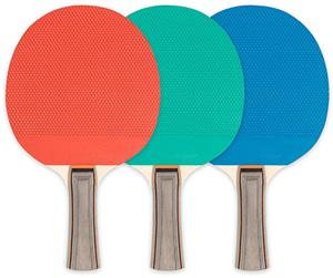 Champion Table Tennis Paddles Rubber Face - 5 Ply