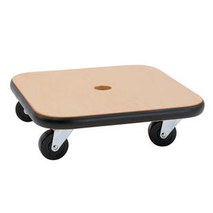 """Champion Sports 12"""" x 12"""" Wood Scooters"""