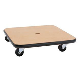 """Champion Sports 16"""" x 16"""" Wood Scooters"""