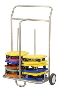 Champion Sports Steel Scooter Storage Cart