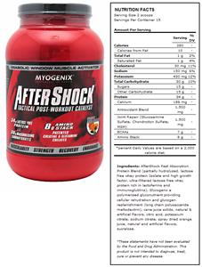 AfterShock Orange Post-Workout Supplement